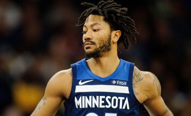 Admirable Report Derrick Rose Will Re Sign With The Wolves Hoop Ball Schematic Wiring Diagrams Amerangerunnerswayorg
