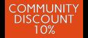 Community Discount 10%